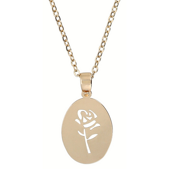 Kette - Simple Rose