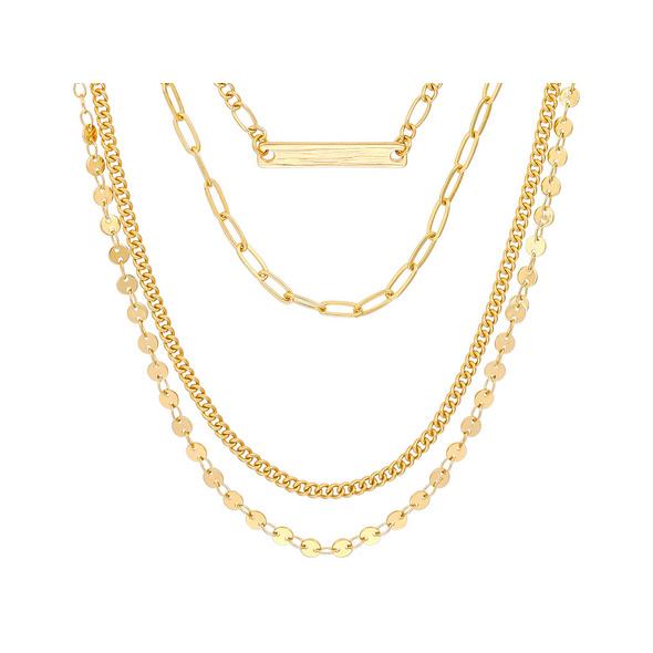 Layering Kette - Various Gold