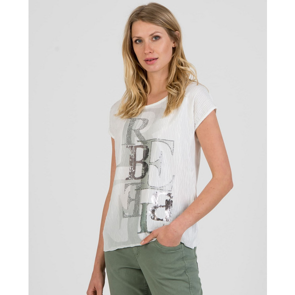 Shirt mit Plissee-Design