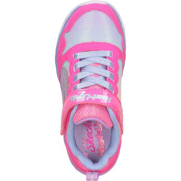 Modell: SKECHERS KIDS MÄDCHEN SNEAKER LED HEART LIGHTS - LOVE SPARK