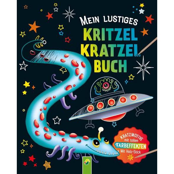 Mein lustiges Kritzel-Kratzel-Buch