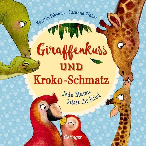 Giraffenkuss und Kroko-Schmatz
