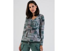 Sweatshirt mit diversen Prints