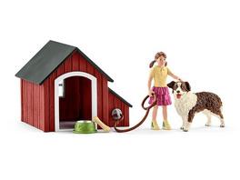 Schleich 42376 - Hundehütte