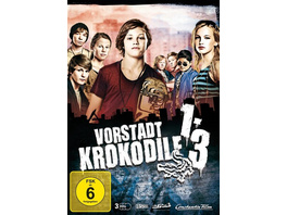 Vorstadtkrokodile - Teil 1-3  [3 DVDs]