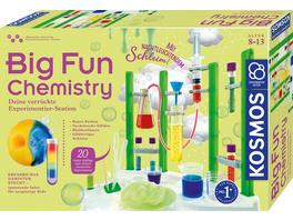 KOSMOS 642532 - Big Fun Chemistry, Die verrückte Chemie Station, Experimentierkasten