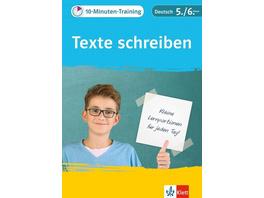Klett 10-Minuten-Training Texte schreiben